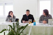 Projekt Večgeneracijski center Točke moči v Primorsko-notranjski regiji, konferenca za medije, 16. 1. 2016, Postojna Foto: Valter Leban