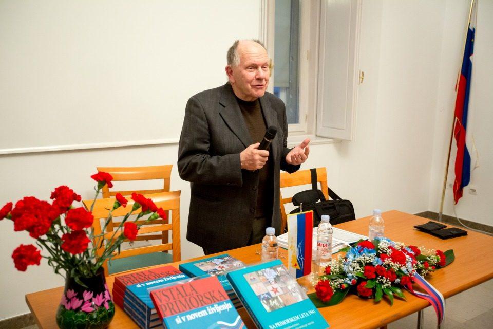 Predstavitev knjige Na Primorskem leta 1941, SAZU Postojna, 14. 3. 2017 Foto: Valter Leban